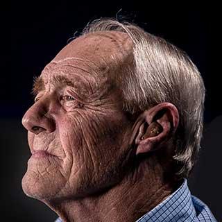 Older Man looking back