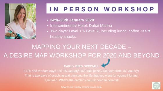 Desire Map workshop Jan 2020 Dubai