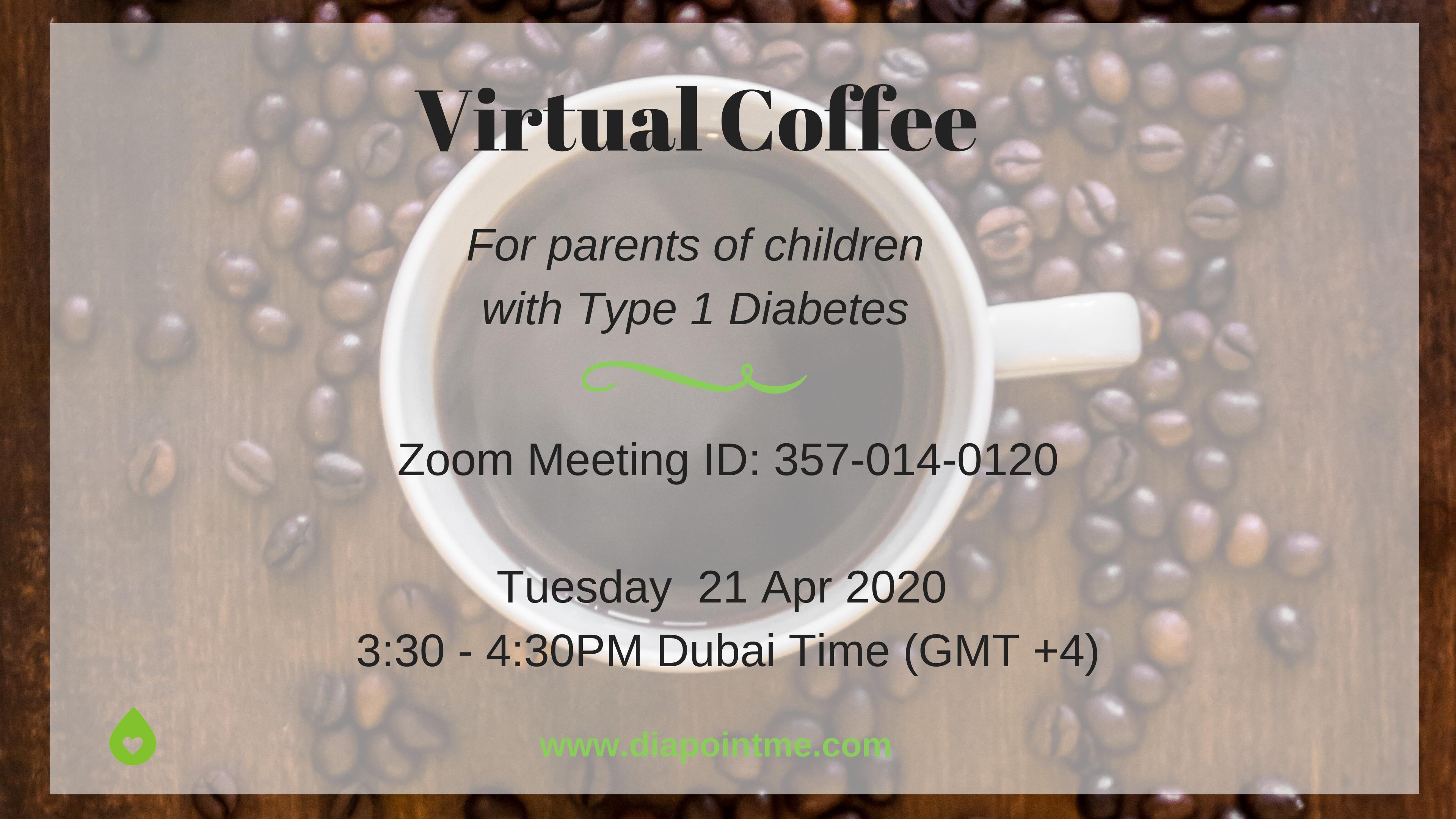 Virtual coffee during COVID-19 diabetes